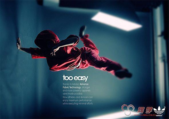 30张超创意adidas广告设计   学术论文,免费论文; adidas创意广告海报