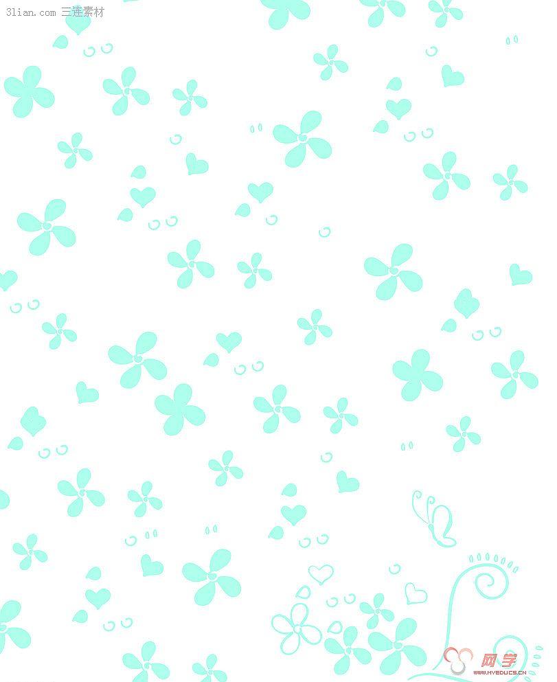 网学 网页素材 背景图片 > 正文                花朵背景图片
