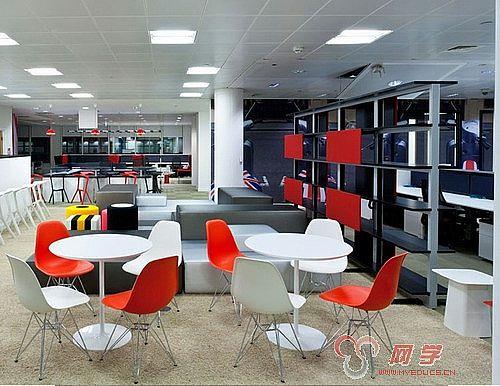 以下是谷歌伦敦办公室的 图片 :