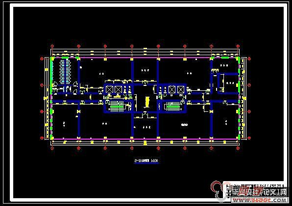 十层剪力墙结构研发综合楼设计(有地下室)