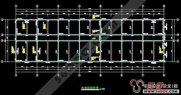 框架结构的三层的施工组织总设