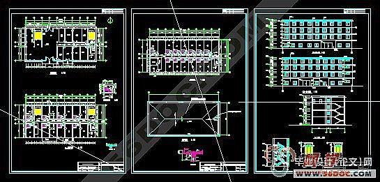 楼梯设计(采用平行双跑楼梯