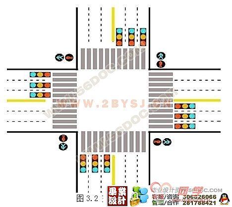 交通信号灯plc控制系统设计-十字路口交通信号灯plc
