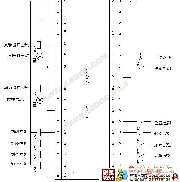 plc控制自动售货机的设计