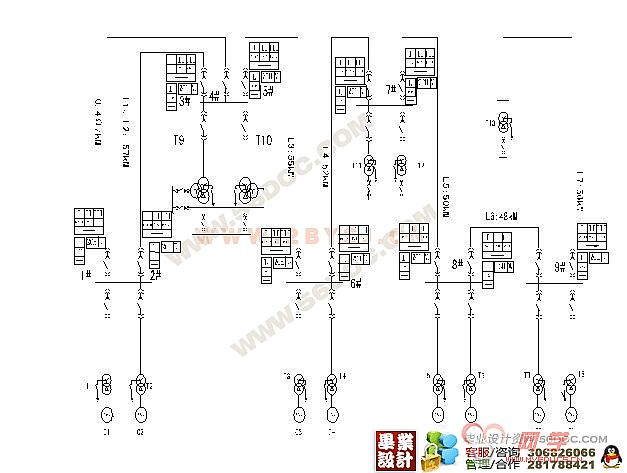 110kv继电保护线路设计(综合自动重合闸)