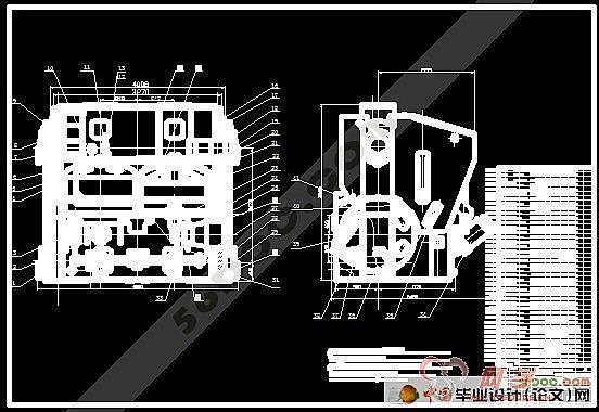 硫化机的主要用途及结构性能 轮胎定型硫化机主要用于空心轮胎(汽车胎、工程胎、飞机胎、摩托车胎、力车胎等)的外胎硫化。 轮胎定型硫化机是在普通个体硫化机的基础上发展起来的。本次设计的硫化机名为双模轮胎定型硫化机,其型号LL-B525/4220 X 2。该硫化机主要适用于普通外胎及子午线结构外胎等充气轮胎定型硫化。能自动进行装胎、定型、硫化、卸胎及后充气冷却等一系列工艺操作。采用蒸锅式(或热板式)加热,可使用两半膜,也可以使用活络膜,并配备有充气装置,供用户硫化尼龙帘布线轮胎时配套使用。 我国轮胎定型硫化机的