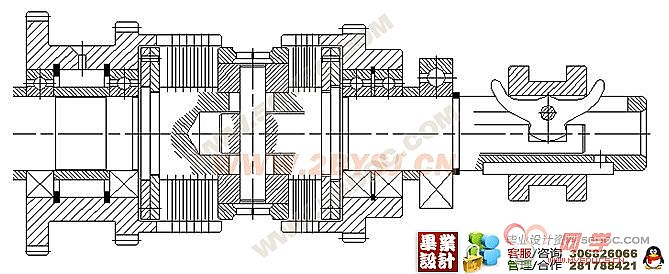 摘 要 作为主要的车削加工机床,CA6140机床广泛的应用于机械加工行业中,本设计主要针对CA6140机床的主轴箱进行设计,设计的内容主要有机床主要参数的确定,传动方案和传动系统图的拟定,对主要零件 进行了计算和验算,利用三维画图软件进行了零件的设计和处理。 关键词:CA6140机床 主轴箱 零件 传动 〖资料来源: 毕业设计(论文)网〗 CA6140的主轴箱是机床的动力源将动力和运动传递给机床主轴的基本环节,其机构复杂而巧妙,要实现其全部功能在软件中的模拟仿真工作量非常大。这次设计的效果没有预计的完美,